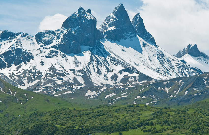 Tour around the Alps in a motorhome