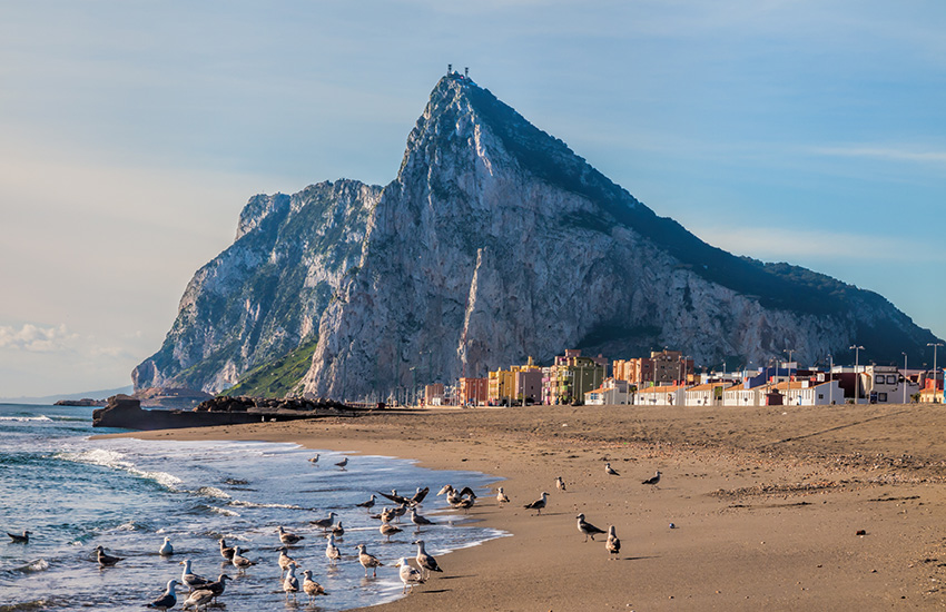 Visit Gibraltar in Spain by motorhome