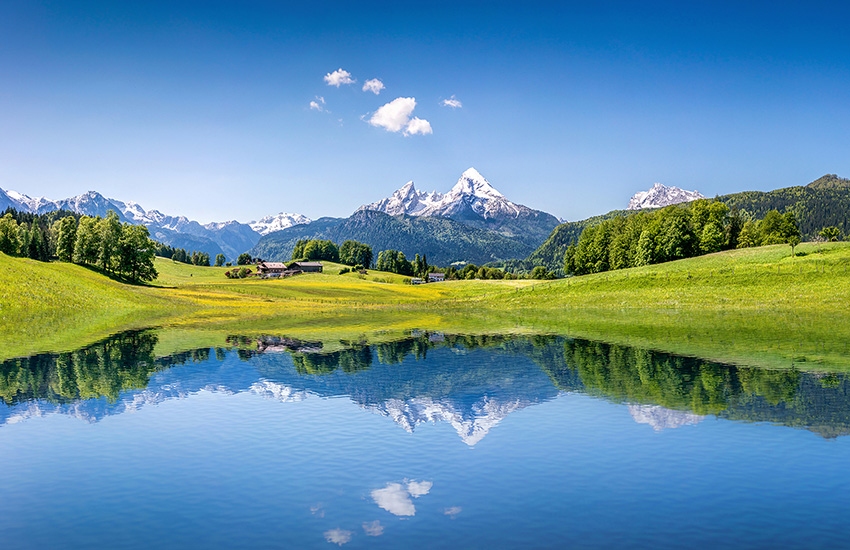 Bavaria and Austrian Alps
