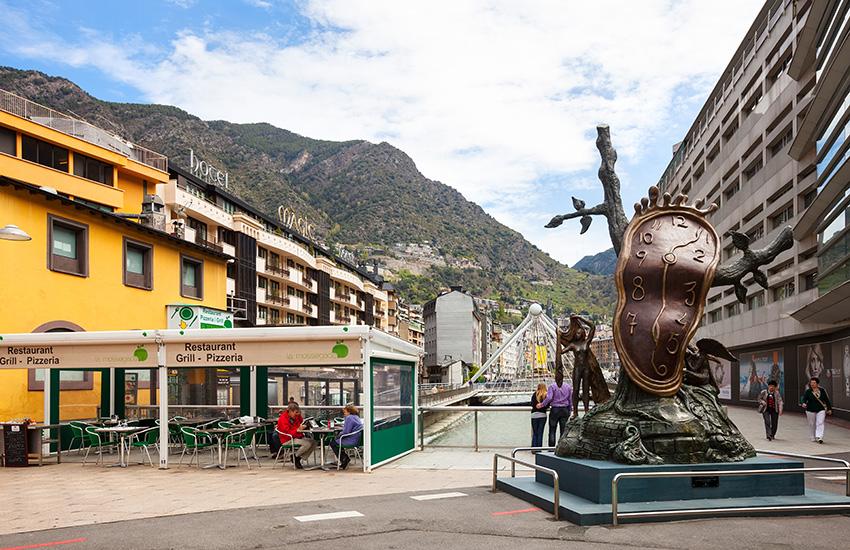 Motorhome holiday to Andorra la vella