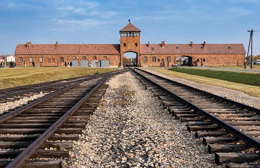 The Auschwitz Birkenau in Poland