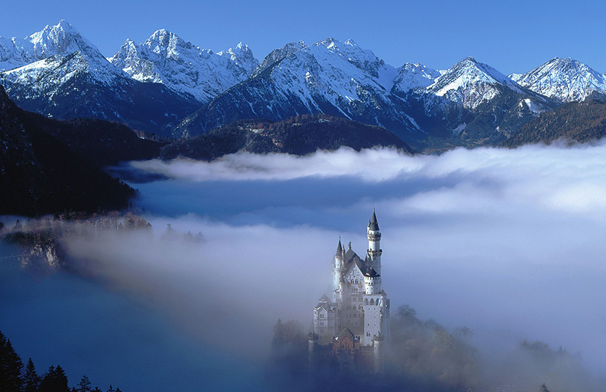 Bavaria Neuschwanstein in Germany