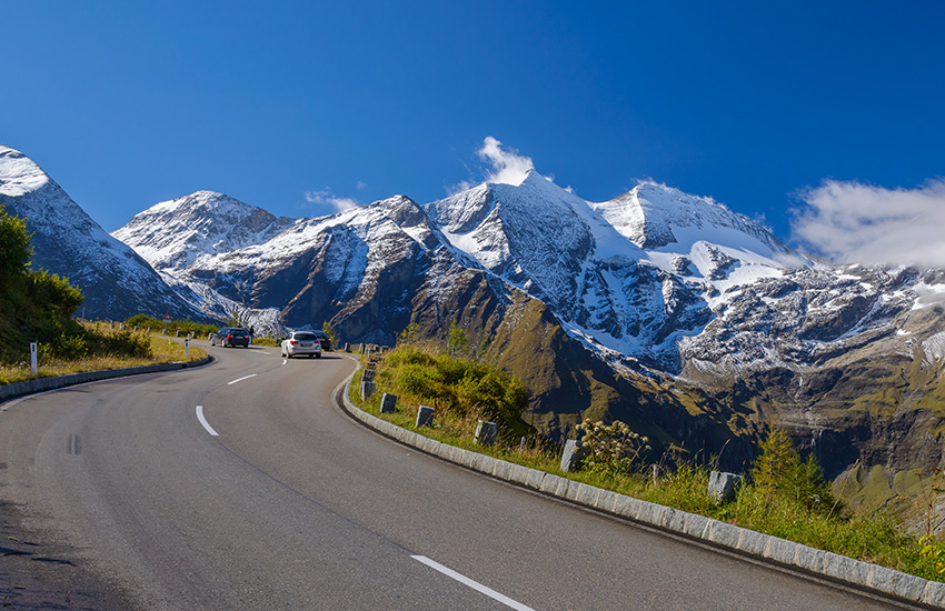 Grossglockner high alpine road Austria
