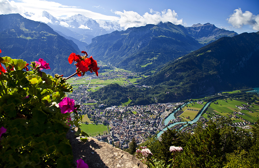Interlaken in Switzerland