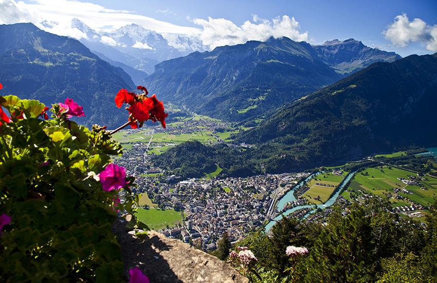 Interlaken in Switzerland