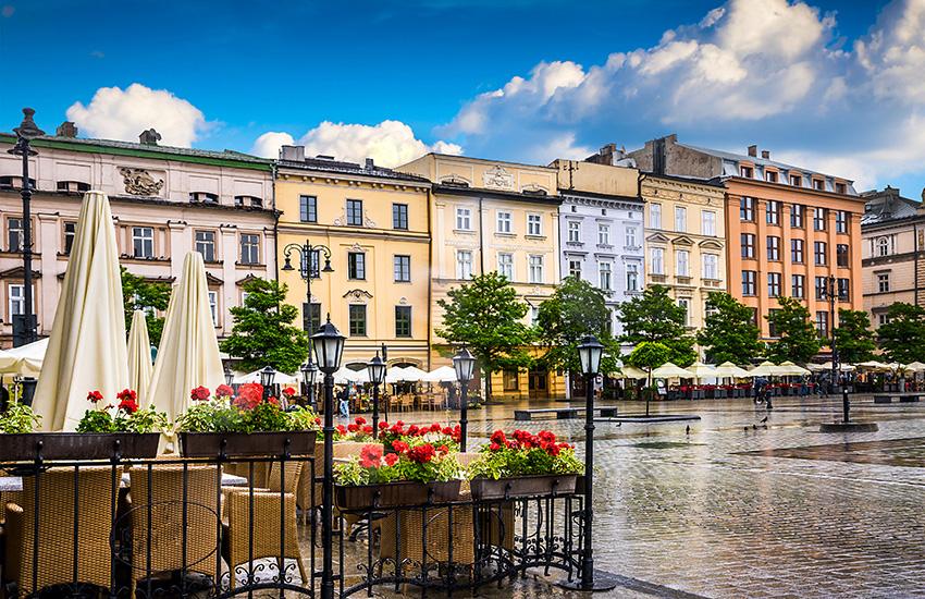 Motorhome hire Poland Krakow