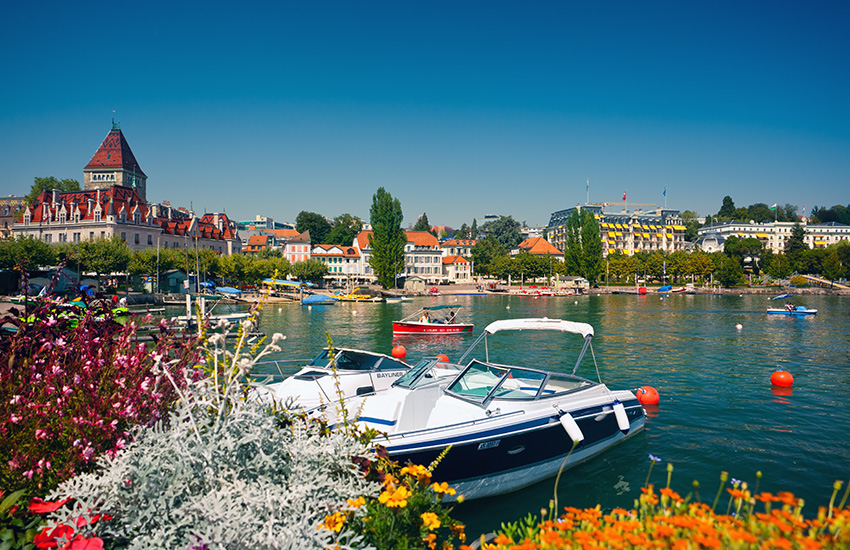 Stop in Lausanne on your motorhome holiday around Switzerland