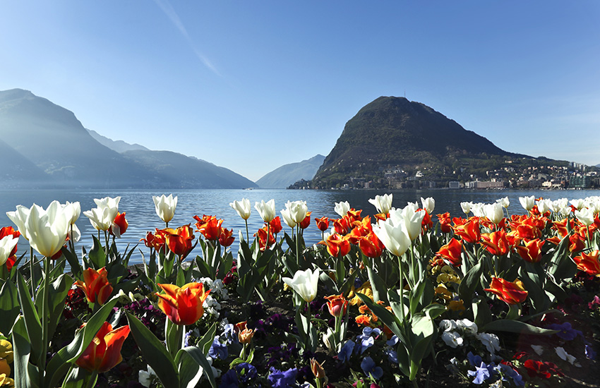 Lugano in Switzerland