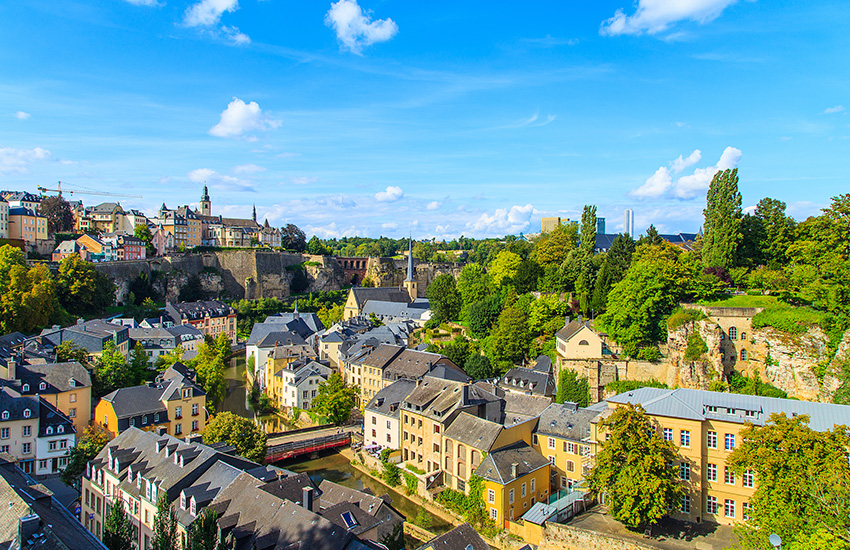 Motorhome hire Luxembourg City
