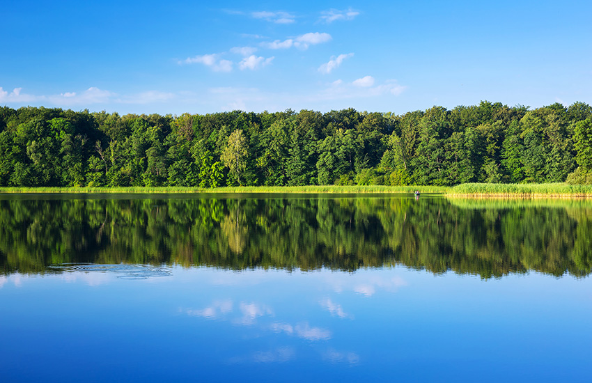 Masurian Lakes in Poland