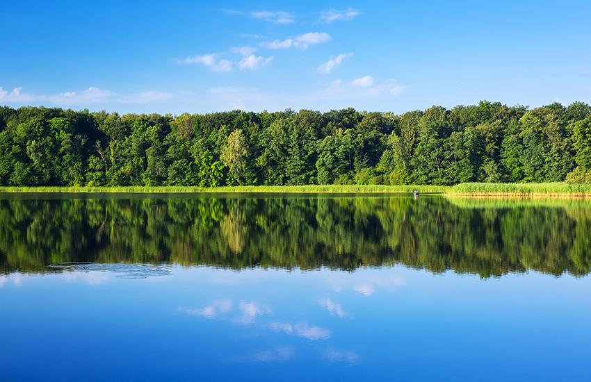 Masurian Lakes in Poland