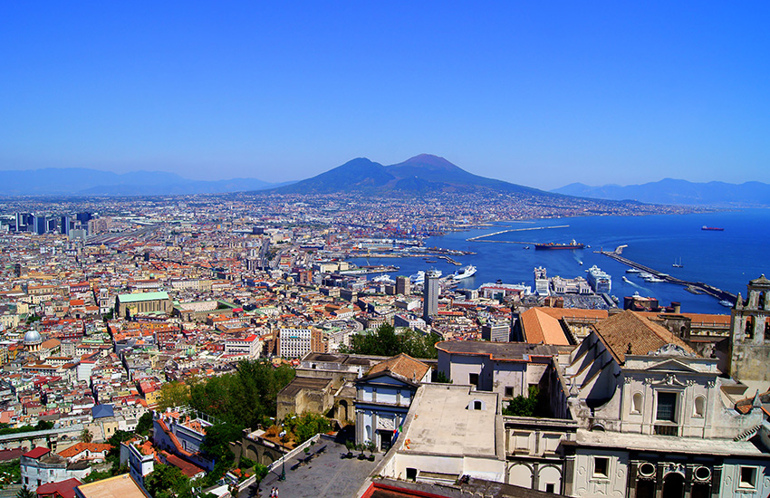 Naples in Italy