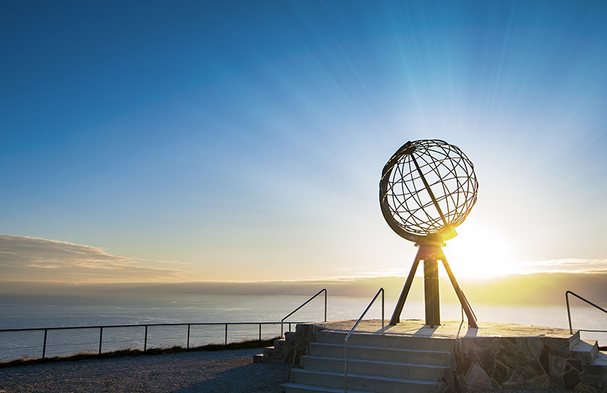 Nordkapp in Norway