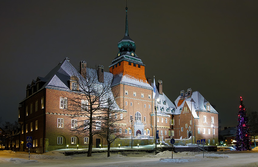 Östersund in Sweden
