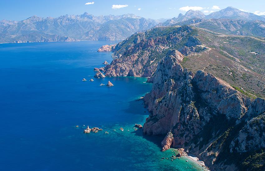 Motorhome hire Corsica and Sardinia - Porto in Corsica