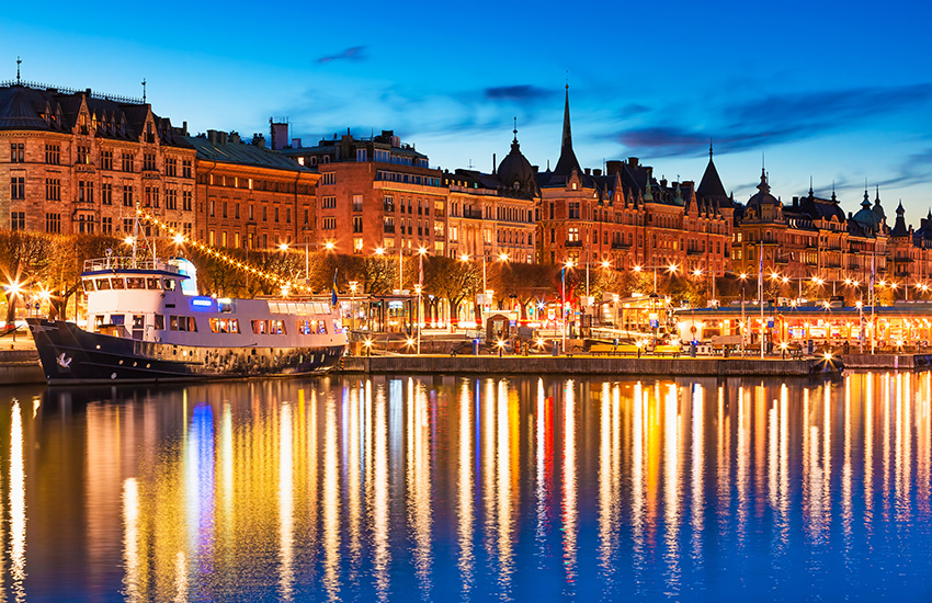 Motorhome hire Sweden - Stockholm in Sweden