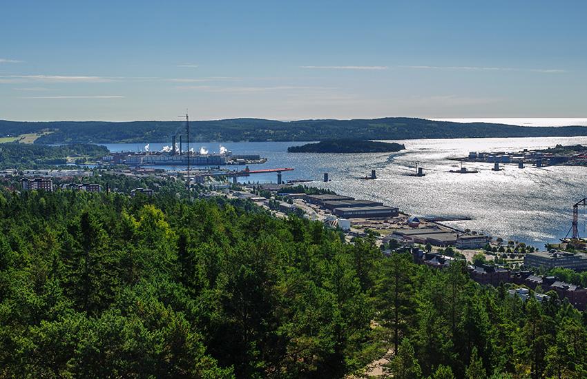 Sundsvall in Sweden