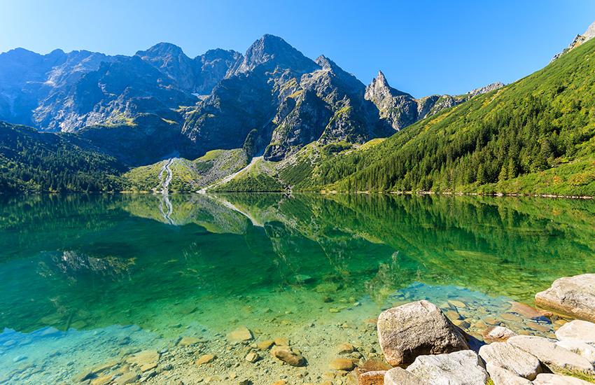 Tatra Mountains in Poland