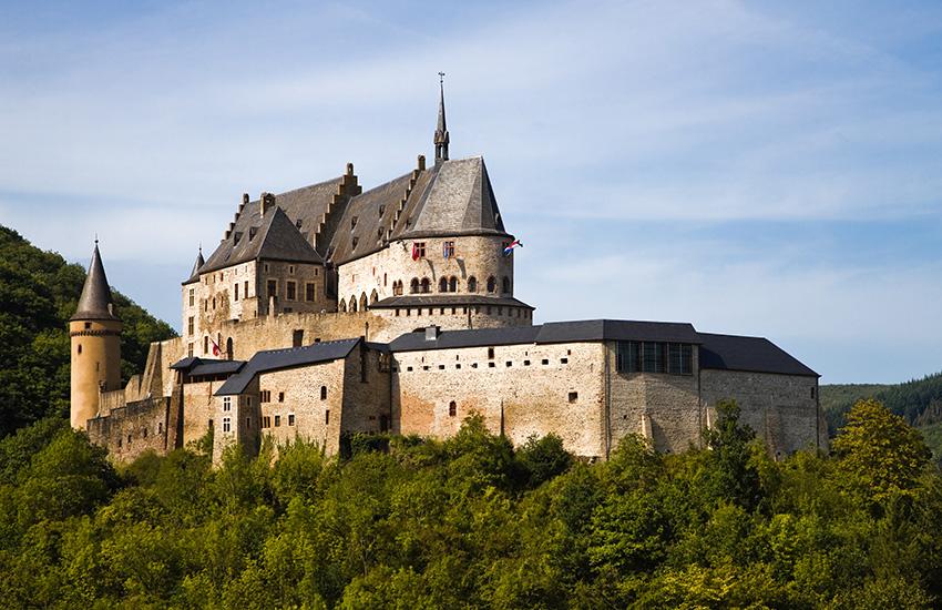 Vianden in Luxembourg