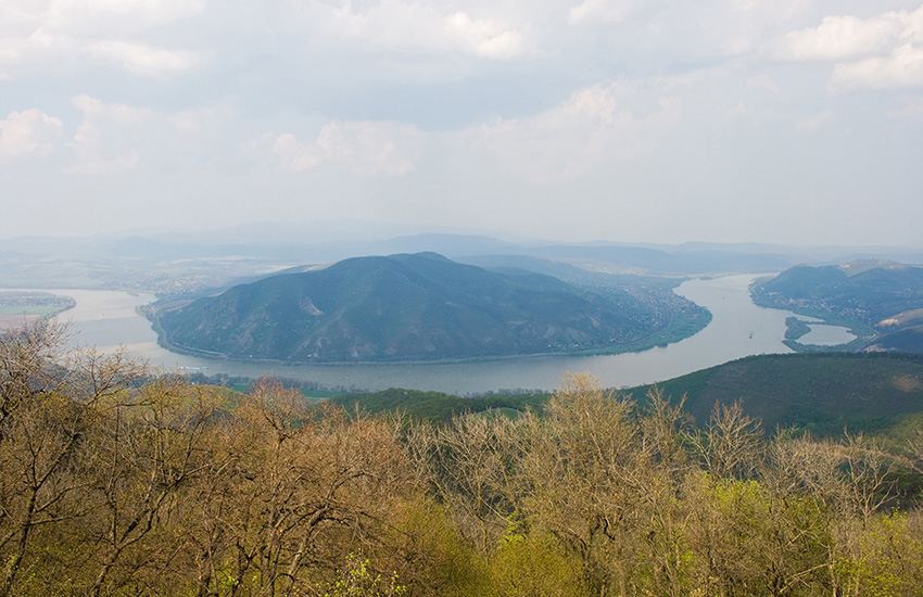 Visegrad and the Danube Bend in Hungary