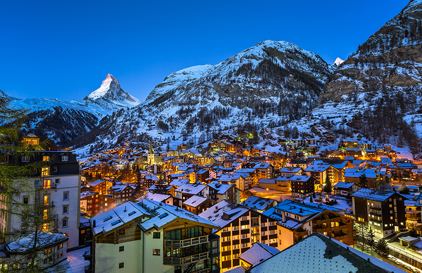 Motorhome Hire Switzerland - Zermatt in Switzerland