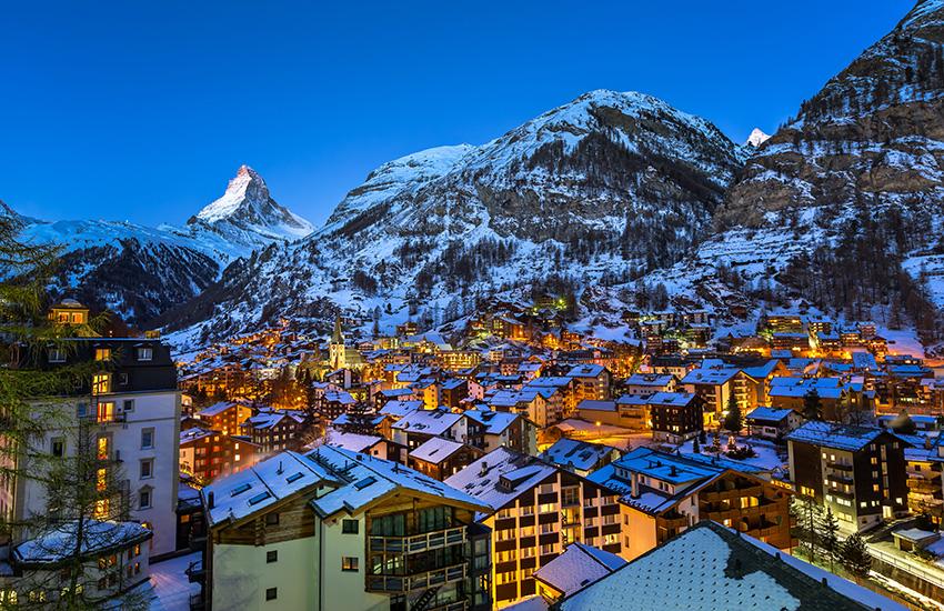 Motorhome Hire Switzerland - Zermatt in Switzerland