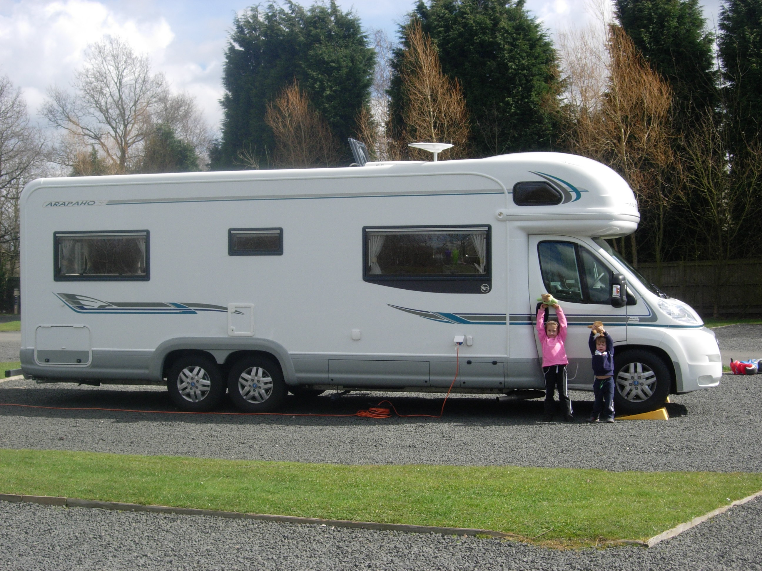 Motorhome holidays with children
