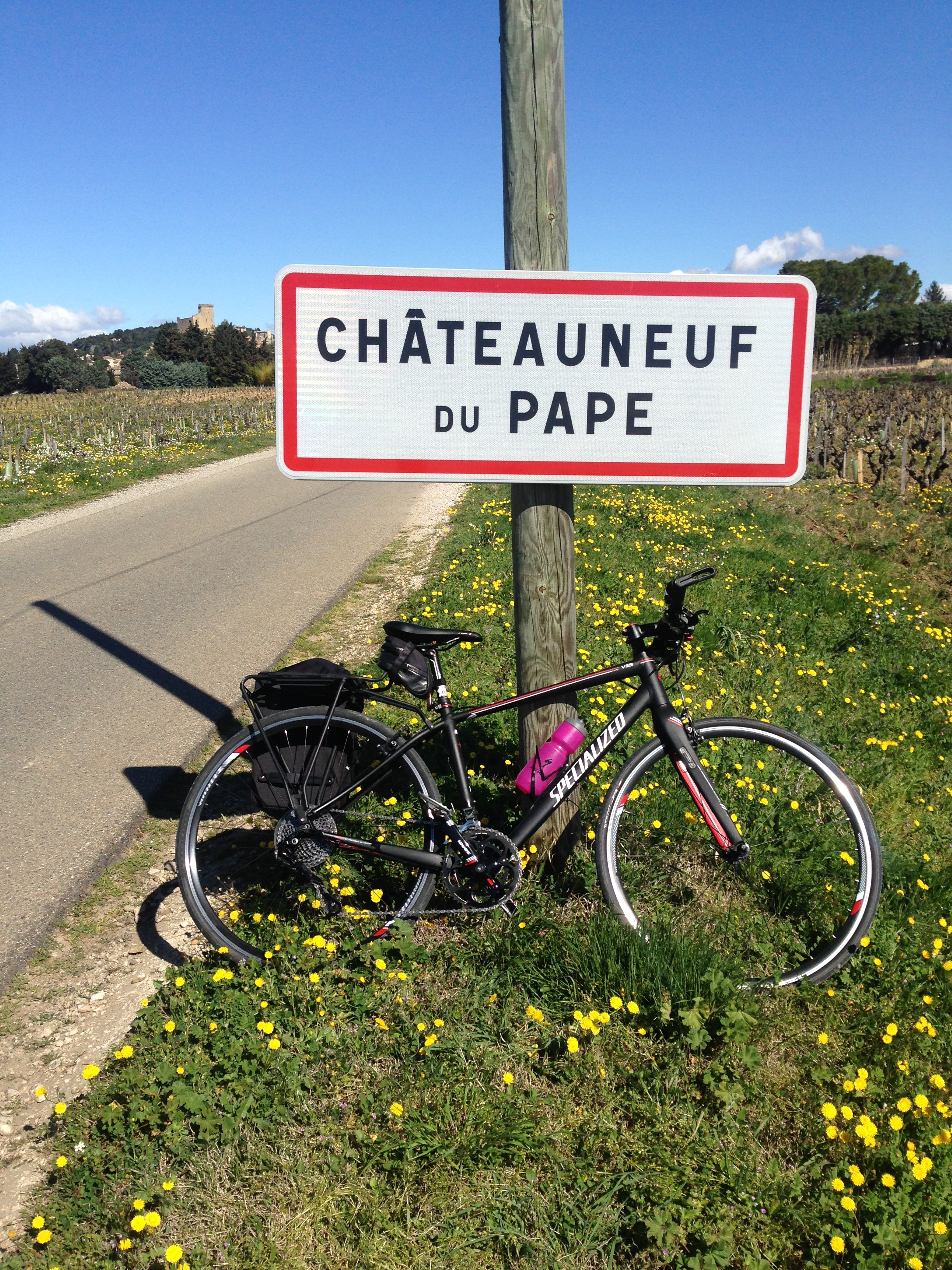 Easter Motorhome Holiday Cycling in France