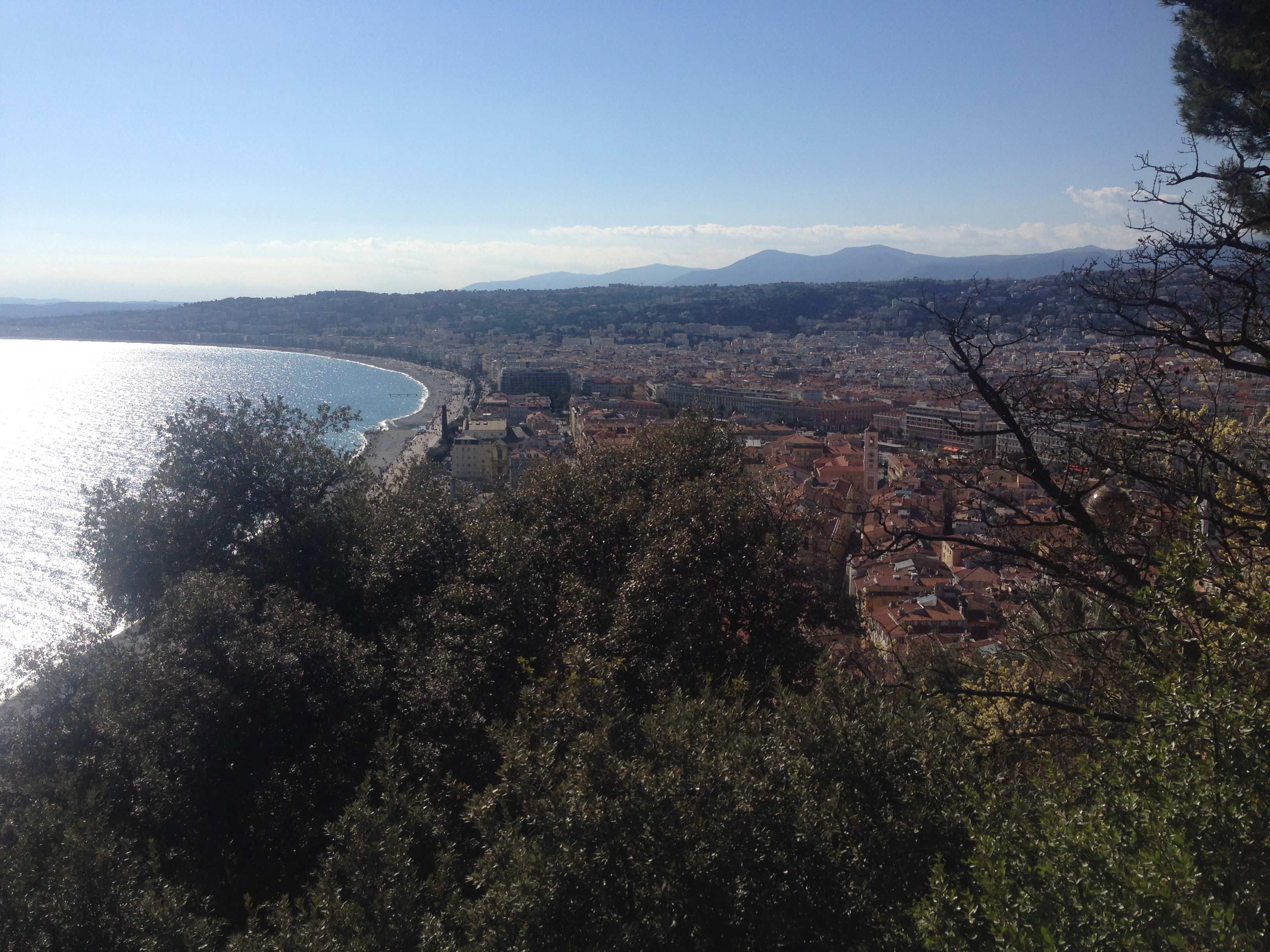 a lovely sunny afternoon spent in Nice