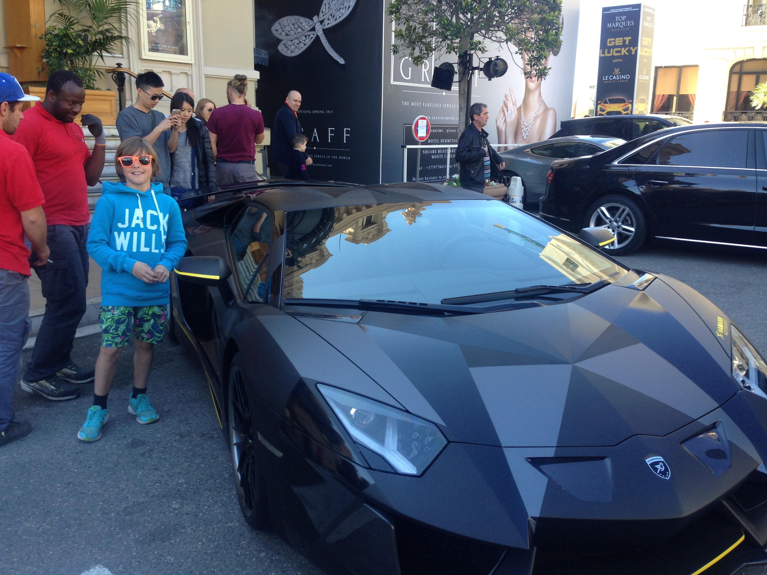Cars in Monaco France