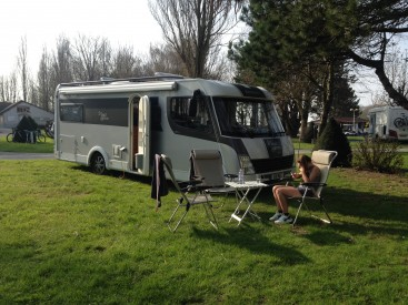 Motorhome family holiday