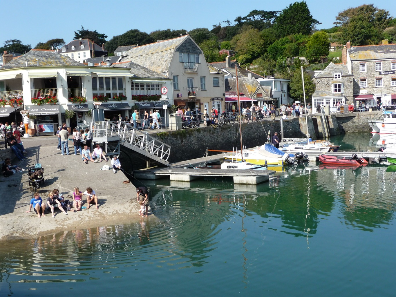 Tour Cornwall by Motorhome and visit Padstow Harbour