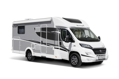 The four-berth T68 motorhome