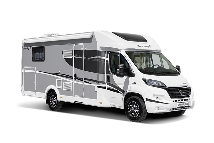 Motorhome Show NEC the four-berth T68 motorhome
