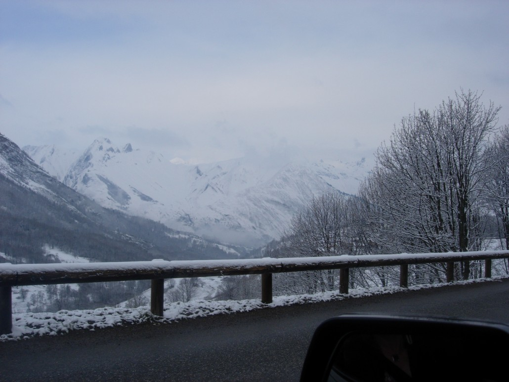 Ski Holiday via Motorhome