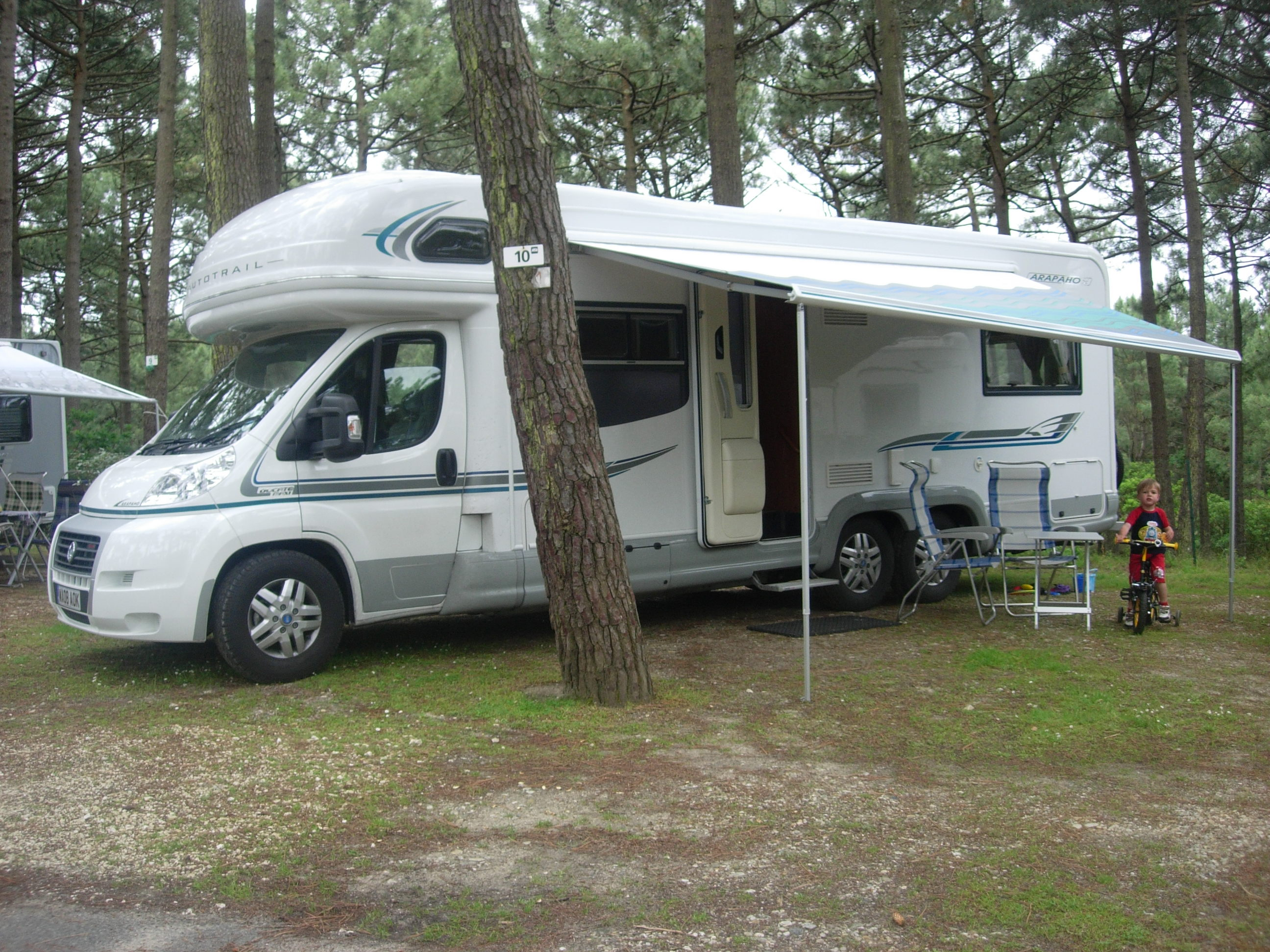 Motorhome in Spain