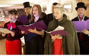 Carol Singing in London