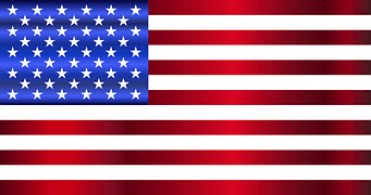 USA Flag RV Motorhome Holiday Europe and UK