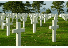 World war cemetry in France