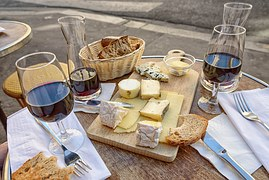 A Taste of France- Wine and Cheese Holiday