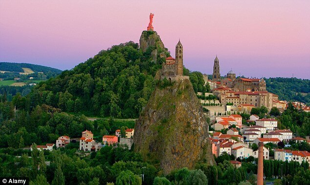 The Auvergne Region in France