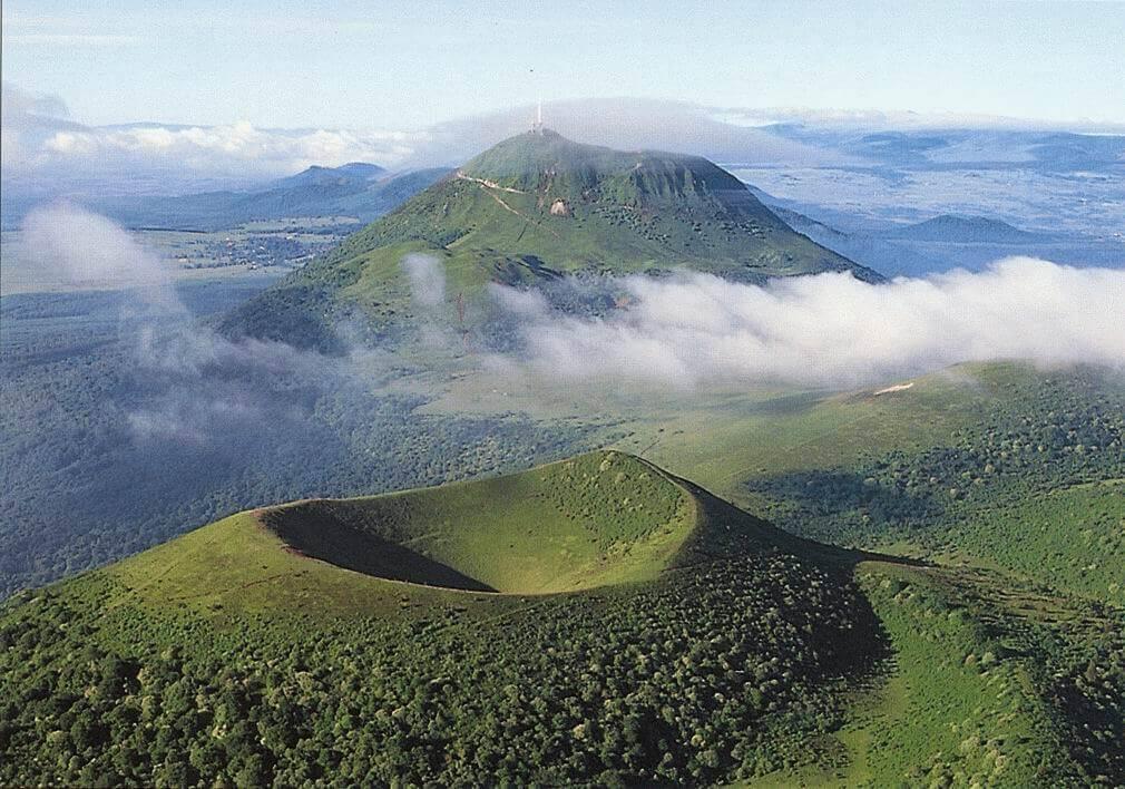 Auvergne Volcanoes regional Park
