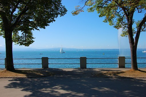 Lake Constance and Three Countries