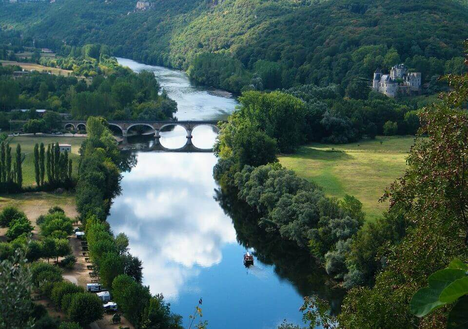 Bergerac and the Dordogne River