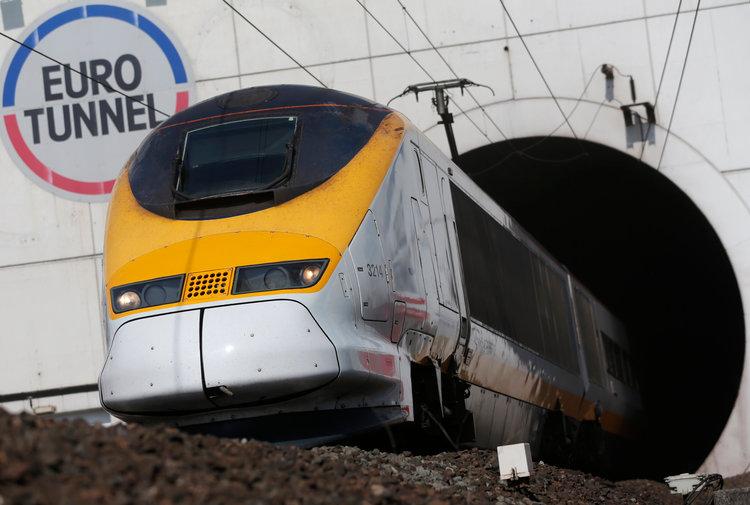 Motorhome Eurotunnel