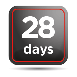 28 days in your motorhome