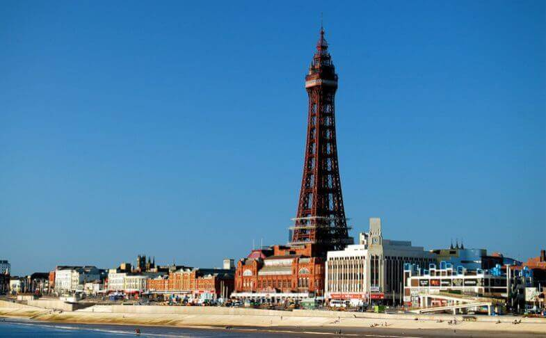 Discover Blackpool in a Motorhome