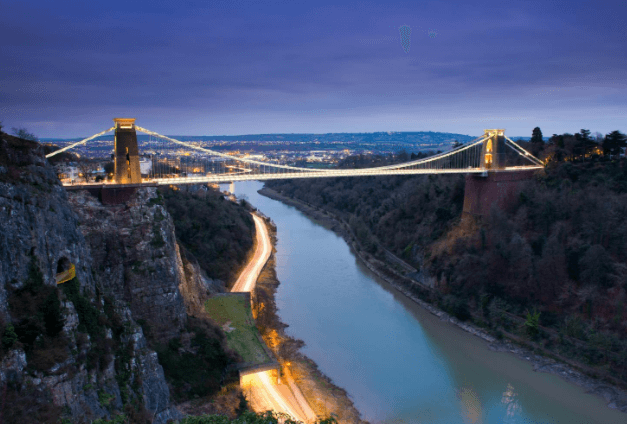 Bristol as it is one of the best places to live in England