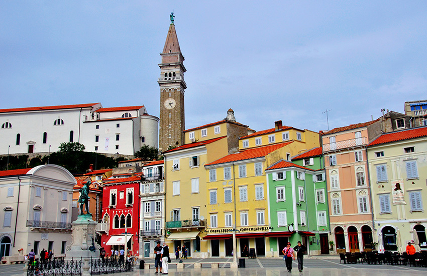 Hire a motorhome and discover Istria Slovenia