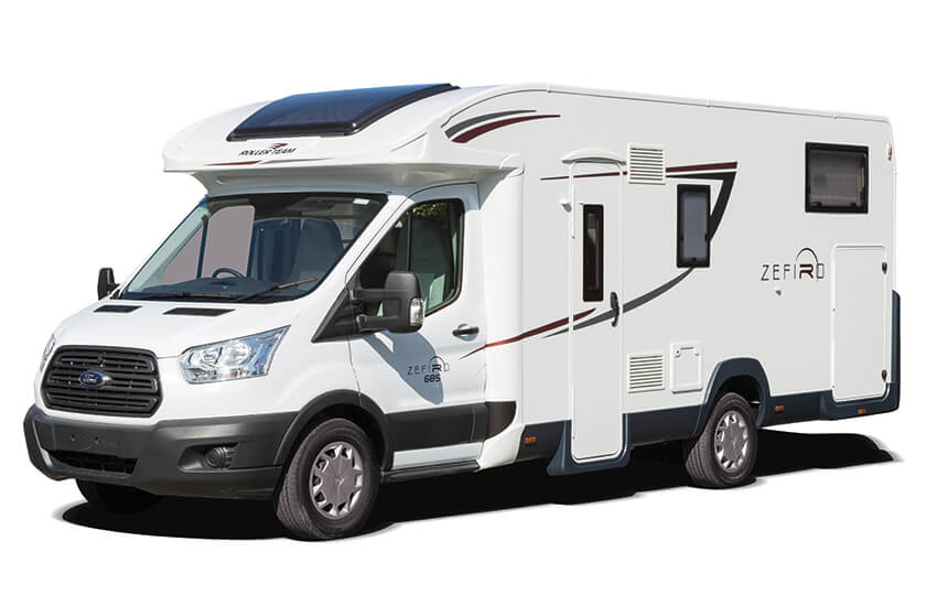Motorhome hire in luxury